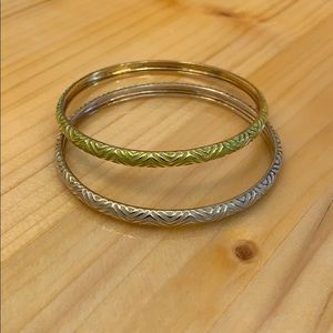 J. Crew knock off bangle bracelets